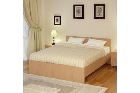 Кровать Промтекс-Ориент Рено 2 Клен танзай (160x200x80 см) Кровати для спальни