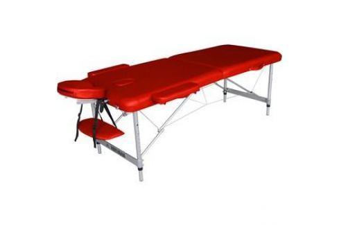 Массажный стол DFC Nirvana elegant optima, 186х60х4 cm (алюминиевые ножки, красный) Массажные столы