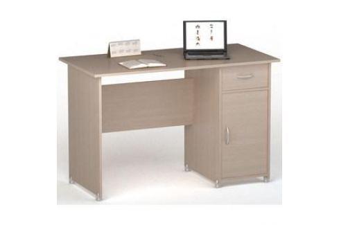 Стол письменный ВасКо ПС4008М1 дуб молочный Письменные столы