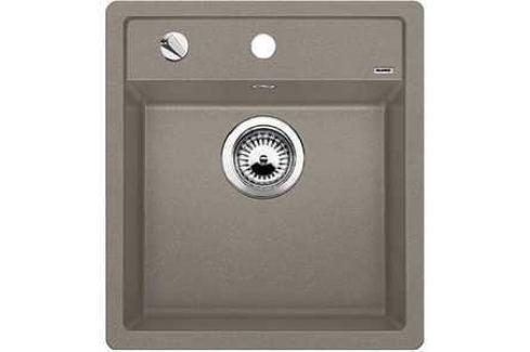 Мойка кухонная Blanco Dalago 45 серый беж с клапаном-автоматом (517317) Кухонные мойки