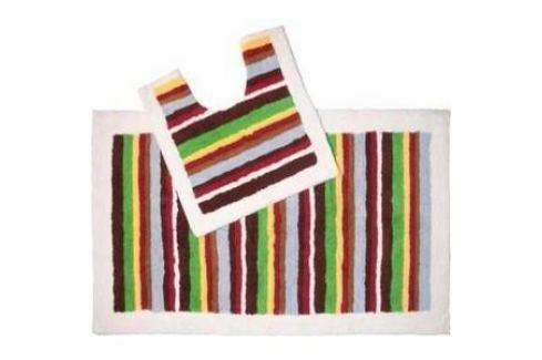Набор ковриков для ванной IDDIS Pallete 70x120 и 50x50 см (440C512i13) Аксессуары для ванной