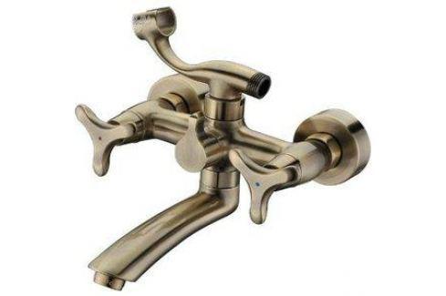 Смеситель для ванны Kaiser Trio излив 20 см, бронза Bronze (57122-1) Смесители