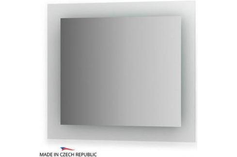 Зеркало Ellux Glow LED 80х70 см, с LED- подсветкой 22 W (GLO-A1 9404) Мебель для ванных комнат