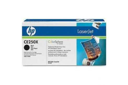 Картридж HP CE250X Расходные материалы