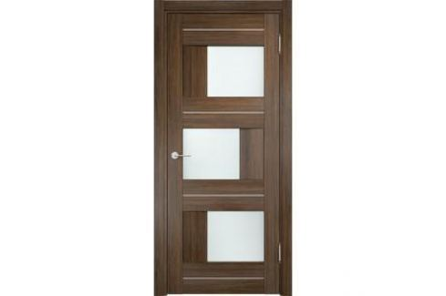 Дверь CASAPORTE Сицилия-14 остекленная 2000х700 экошпон Венге мелинга Межкомнатные двери