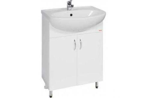 Комплект мебели Меркана Уют 45 белый Мебель для ванных комнат
