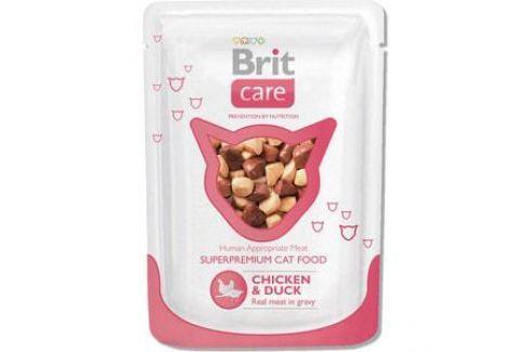 Паучи Brit Care Cat Chicken & Duck с курицей и уткой для кошек 80г (100121) Электроника и оборудование