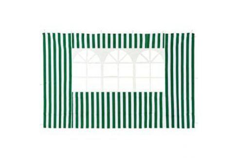 Стенка к шатру Green Glade с окном (зеленая) 1.95х2.95 4110 Тенты, шатры, беседки, павильоны