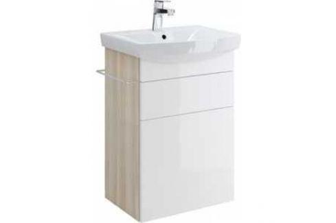 Тумба Cersanit Smart Carina 50 белый (P-SU-SMA-CA50/Wh) Мебель для ванных комнат