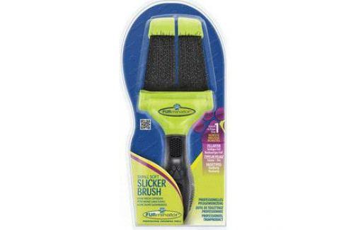 Пуходерка FURminator Slicker Brush Small Soft маленькая мягкая двухсторонняя зубцы 15мм Электроника и оборудование