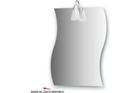 Зеркало Ellux Classic 50х65 см, со светильником 40 W (CLA-A1 0424) Мебель для ванных комнат