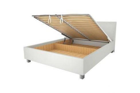 Кровать OrthoSleep Ниагара механизм и ящик белый 140х200 Кровати для спальни