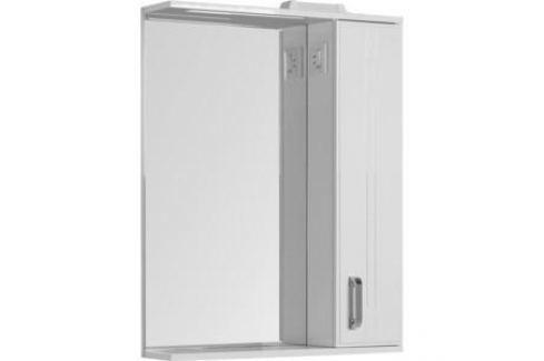 Шкаф-зеркало Aquanet Рондо 70 белый (189162) Мебель для ванных комнат