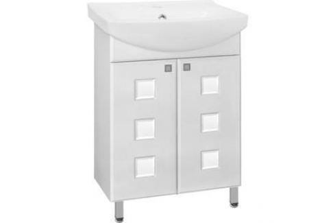 Тумба под раковину Style line Крокус 60, Cersania 60 (2000949023465) Мебель для ванных комнат