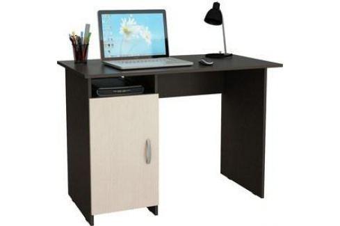 Стол письменный Мастер Милан-8 левый (венге-дуб молочный) МСТ-СДМ-08-ВД-16 Письменные столы