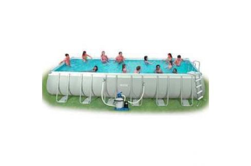 Каркасный бассейн Intex Ultra Frame 9.76х4.88х1.32м (54990)/(28372)/26372 Каркасные Бассейны