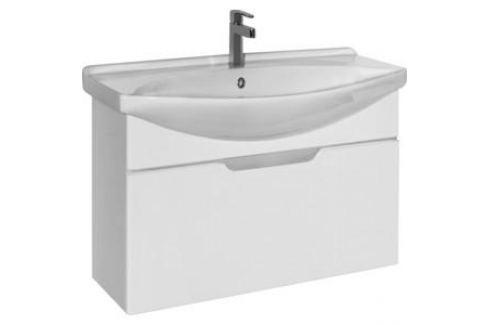 Тумба под раковину Dreja Laguna 75 белый (99.0102) Мебель для ванных комнат