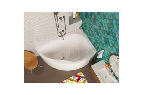 Акриловая ванна Alpen Dallas 160 R, правая (комплект) Акриловые