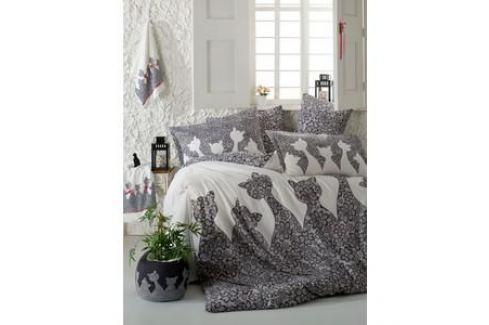 Комплект постельного белья Hobby home collection Евро, поплин, Jazz, черный (1607000136) Электроника и оборудование