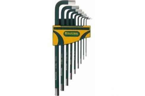 Набор ключей шестигранных Kraftool 1.5-10мм 9шт Industrie (27443-H9) Наборы ключей