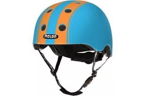 Шлем Melon Double Orange Blue Матовый XL-XXL (58-63 см) (162503) Аксессуары для велосипедов и самокатов