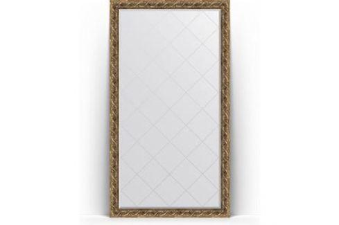 Зеркало напольное с гравировкой поворотное Evoform Exclusive-G Floor 111x200 см, в багетной раме - фреска 84 мм (BY 6351) Мебель для ванных комнат