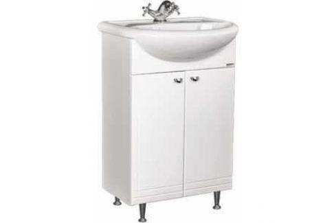 Тумба под раковину Домино Уют 60 без ящика (DD4072T) Мебель для ванных комнат