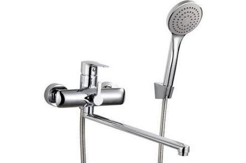 Смеситель для ванны Rossinka с изливом 350 мм с аксессуарами (V35-32) Смесители