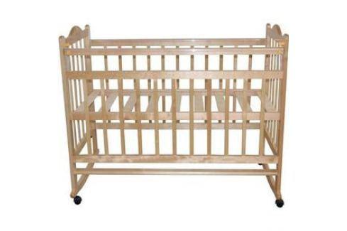 Кроватка Briciola Briciola-1 колесо качалка автоматическая светлая (BR0105) Кроватки