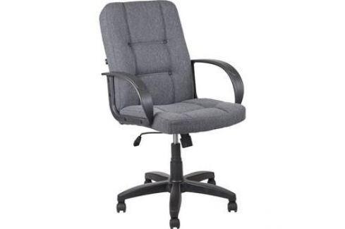 Кресло Алвест AV 211 PL (727)МК ткань 415 серая с черной ниткой Компьютерные кресла