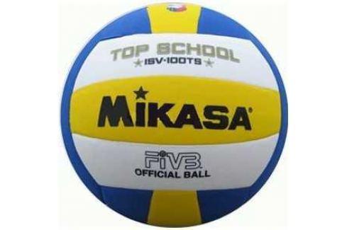 Мяч волейбольный Mikasa ISV100TS, размер 5, цвет бел-жел-син Волейбольные мячи