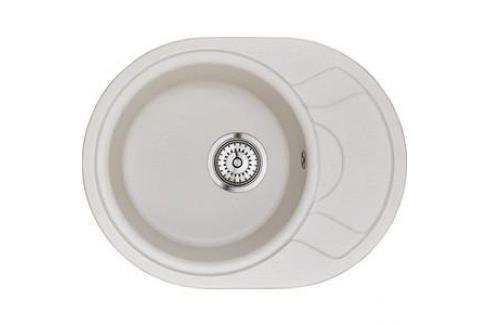 Мойка кухонная Granula 57,5х44,5 см арктик (GR-5802 арктик) Кухонные мойки