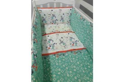 Комплект постельно белья By Twinz 3 предмета Веселый щенок Комплекты постельного белья