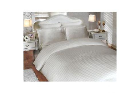 Комплект постельного белья Hobby home collection Евро, бамбук, Diamond Houndstooth, кремовый (1501000003) Электроника и оборудование