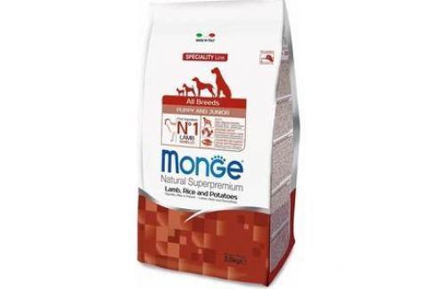 Сухой корм Monge Speciality Line Puppy and Junior All Breed Lamb, Rice and Potatoes с ягненком, рисом и картофелем для щенков всех пород 2,5кг Электроника и оборудование