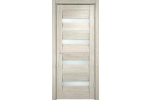 Дверь CASAPORTE Сицилия-12 остекленная 2000х800 экошпон Дуб белёный мелинга Межкомнатные двери