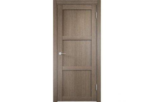 Дверь ELDORF Баден-1 глухая 1900х550 экошпон Дуб дымчатый Межкомнатные двери