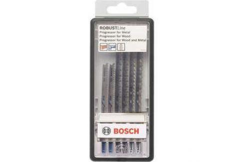 Набор пилок для лобзика Bosch 6шт T308B/T308BF/T301BCP/T234X Robust Line Wood Expert (2.607.010.572) Электроника и оборудование