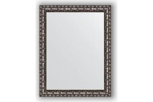 Зеркало в багетной раме Evoform Definite 37x47 см, черненое серебро 38 мм (BY 1340) Мебель для ванных комнат