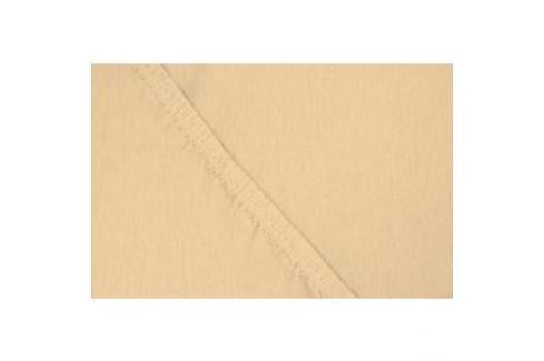 Простыня Ecotex трикотаж на резинке 140x200x20 см (ПРТ14 персиковый) Простыни