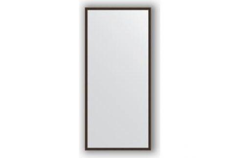 Зеркало в багетной раме поворотное Evoform Definite 68x148 см, витой махагон 28 мм (BY 0761) Мебель для ванных комнат