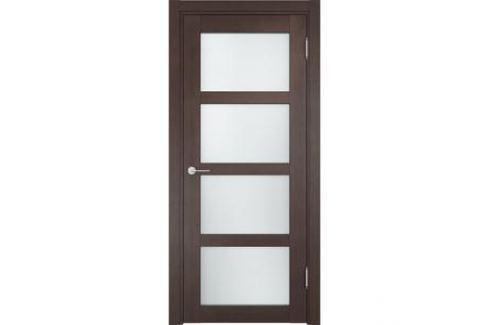 Дверь CASAPORTE Рома-11 остекленная 1900х550 экошпон Венге Межкомнатные двери