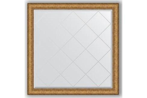 Зеркало с гравировкой Evoform Exclusive-G 104x104 см, в багетной раме - медный эльдорадо 73 мм (BY 4438) Мебель для ванных комнат