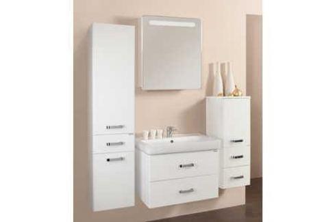 Комплект мебели Акватон Америна 70 белая Мебель для ванных комнат