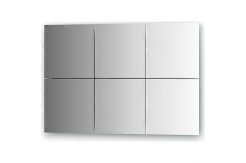 Зеркальная плитка Evoform Reflective с фацетом 10 мм, 25 х 25 см, комплект 6 шт. (BY 1505) Мебель для ванных комнат