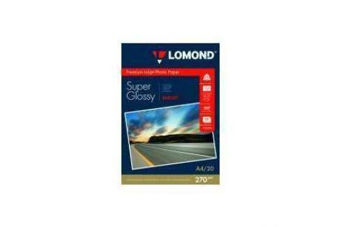 Бумага Lomond A4 суперглянцевая (1106100) Расходные материалы
