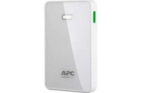 Внешний аккумулятор APC Mobile Power Pack 5000mAh Li-polymer White (M5WH-EC) Внешние аккумуляторы для портативных устройств