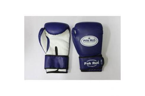 Перчатки боксерские Pak Rus 12 OZ . синие. PR-128881 (искуственная кожа) Перчатки боксерские