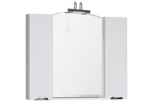 Зеркало-шкаф Aquanet Асти 105 белый (178242) Мебель для ванных комнат
