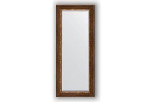 Зеркало с фацетом в багетной раме поворотное Evoform Exclusive 61x146 см, римская бронза 88 мм (BY 3543) Мебель для ванных комнат
